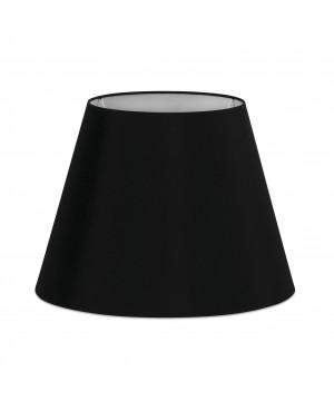 Pantalla textil negra ø400×290