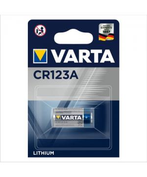 Pila Litio CR123A