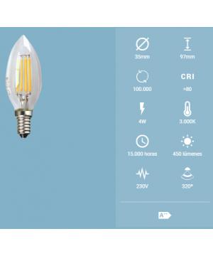 LED ECO Filamento Trans....