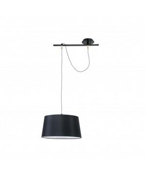 Lámpara colgante negro FUSTA